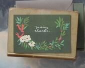 Many Thanks Amelia // Single Card // Fawnsberg Stationery