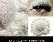 Clearance-White Mineral Eye Shadow-Crushed Diamonds