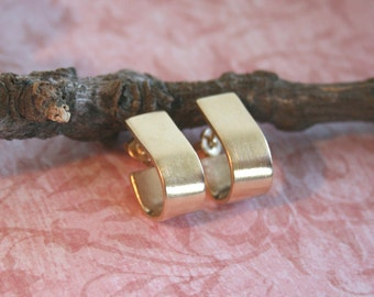 Black Friday Sale: Handmade Gold Earrings - Nickel Free Earrings - 18k Gold Plated Earrings