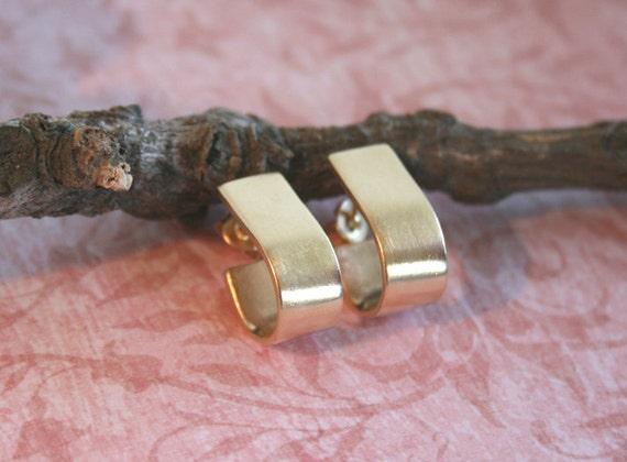 Handamade Gold Earrings - Nickel Free