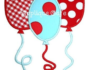 169 Balloons Machine Embroidery Applique Designs
