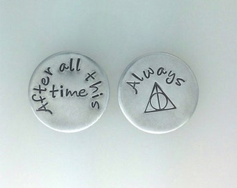 After all this time - Always Harry Potter inspired Floating Locket Plate