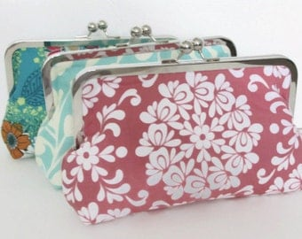 Clutch Bag - Bridal Party Gift - Customize your Cutie Girlie Set - YOU DESIGN