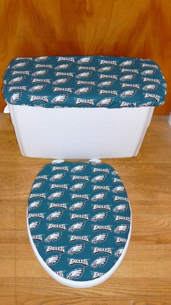 philadelphia eagles toilet seat and tank lid cover set. Black Bedroom Furniture Sets. Home Design Ideas