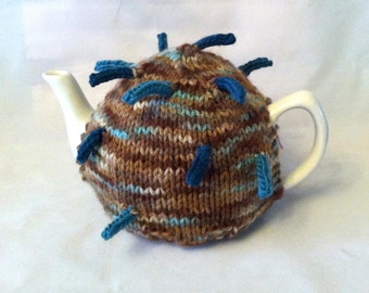 Spike, The Tea Cosy with a Point (or two) - A warm, snuggly sweater for your teapot
