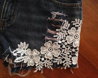 Flirty Denim Shorts