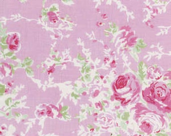 Vintage by Annette Tatum Cotton Fabric by Free Spirit Fabrics PWAT089-BLSH  Blush Beauty