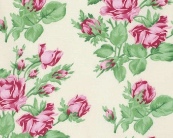 Snapshot Floral Romance Verna Mosquera  Cotton Fabric PWVM114pearl