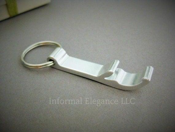 personalized bottle opener keychain with 3 by informalelegance. Black Bedroom Furniture Sets. Home Design Ideas
