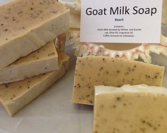Goat Milk Soap - Beach scent
