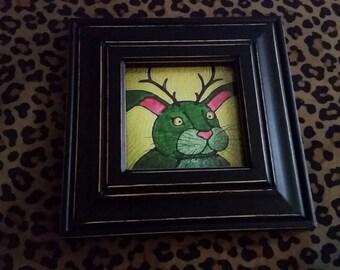 Framed Jackaloupe #2 Print