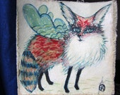 Animals with wings by Stacy Novak - Custom painting