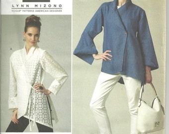 Vogue 1246 Jacket Top Tunic Wrap sz8 10 12 14 FF