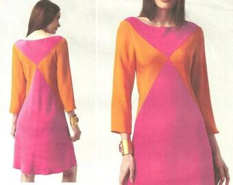 Vogue 1326 Bias Dress New 2012 sz 8-16 uncut Tom and Linda Platt Designer FF