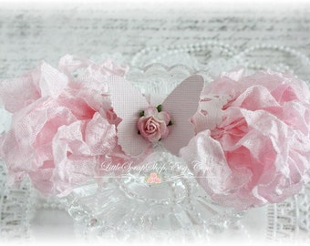Seam Binding Crinkle Ribbon~Pink Pearl~5 Yards, Scrapbooking, Cardmaking, Tag Art, Sewing, Gift Wrap