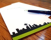 Personalized Social Stationary Seattle Stationery Personal Monogram Thank You Notes