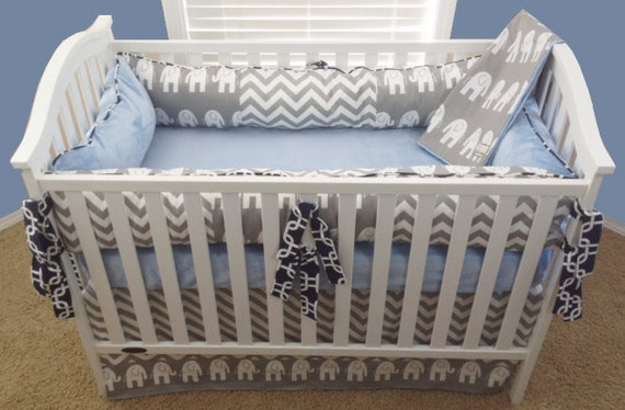 baby boy crib sets elephant crib set for boys elephant baby