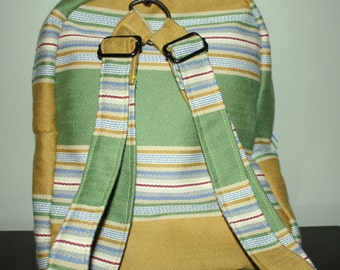 Backpack or Messenger Bag- Hand Crafted By Maggie.SOLD.