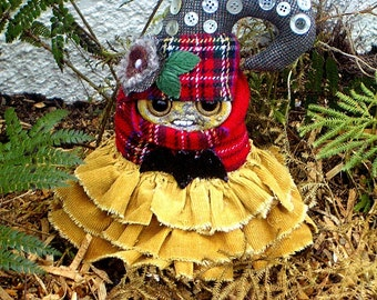 Art Doll Flossie  Fern Gnome