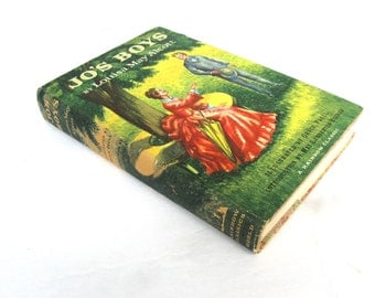 Jo's Boys By Louisa May Alcott HB DJ World Publishing Company 1957