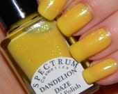 DANDELION DAZE Yellow Nail Polish