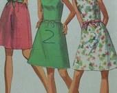 Vintage  Dress Sewing Pattern Simplicity 8235 Size 12