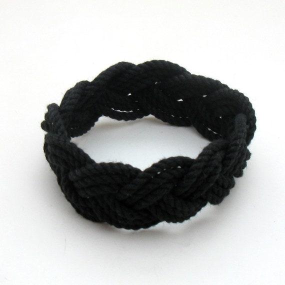 Sailor Knot Bracelet Black Turk's Head