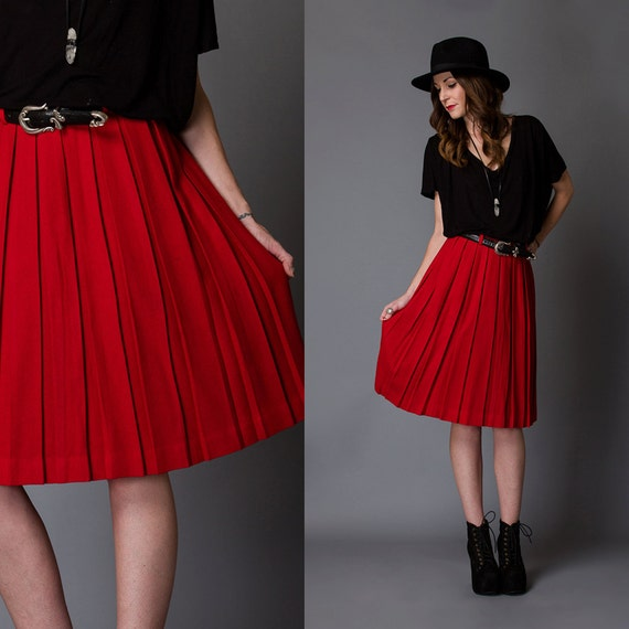 Affairs of the Heart- Vintage Skirt- Size Extra Small