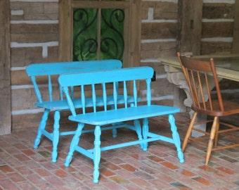 Quart of Custom Color Mix Furniture Paint,  Premium McClains Chalk Blended Paint  Furniture Cloth Metal Wood Leather Shabby Vintage Look