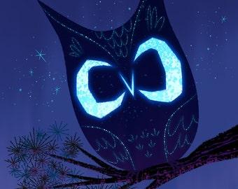 Night Owl - Print