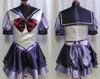 Eternal Sailor Scout Sailor Moon Costume Cosplay Adult Women's Size 4 6 8 10 12 14 All Scouts