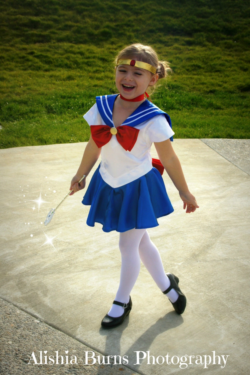 Child's Sailor Moon Costume Cosplay Costume Size Girls 18