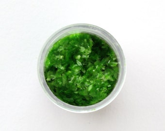 Green Edible Glitter for Decorating Cupcakes, Cookies and Cakes (1/4 ounce)