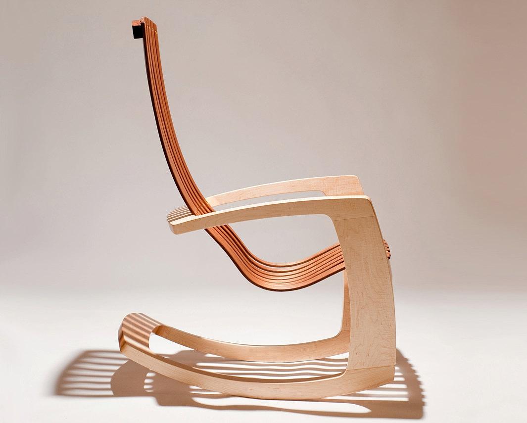 the modern rocking chair. Black Bedroom Furniture Sets. Home Design Ideas