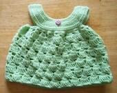 Pinafore 2301 - Newborn - 3 Months - Lime Green