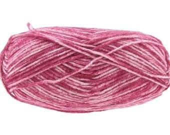 3 balls Lion Brand - Vanna's Choice 301 ROSE MIST Premium Acrylic Knitting Yarn