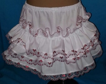 Boutique OOAK Custom Made Triple Panty or Diaper Cover in Choice of Colors