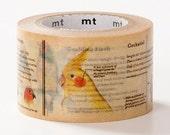 MT ex 2014 Encyclopedia Japanese Washi Tape / 30mm wide Birds