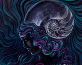 print of psychedelic visi...