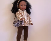 Animal Print Outfit for American Girl and Other 18 inch Dolls