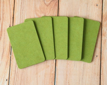 50pc SAGE Green Tinted Series Business Card Blanks