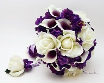 Purple Lavender Bouquets