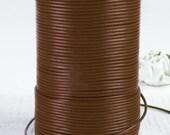SHOP SALE - Greek Genuine Leather Cord, round 1.5mm Warm Chocolate Brown, By the Yard, DIY Mykonos Craft Jewelry Supplies