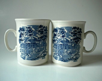 Liberty Blue by STAFFORDSHIRE Coffee Mugs