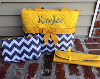 Baby Quilted Diaper Bags