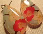 Blue/Cherry Blossoms