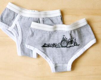 tractor undies . by Lund Studios