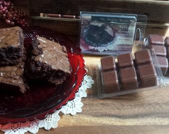 Fudge Brownie Tarts, Brownies Tarts, Chocolate  Soy Tarts, Soy Wax, Fall Melts, Christmas Tarts