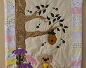 Under the Honey Tree Baby Quilt