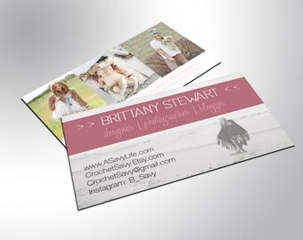 Classic Business Cards, Custom Design, Full Color, Rounded Corners